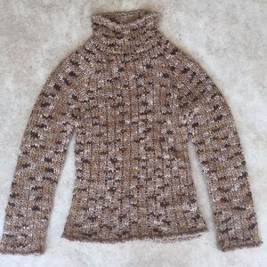 Bebe mock turtle neck sweater
